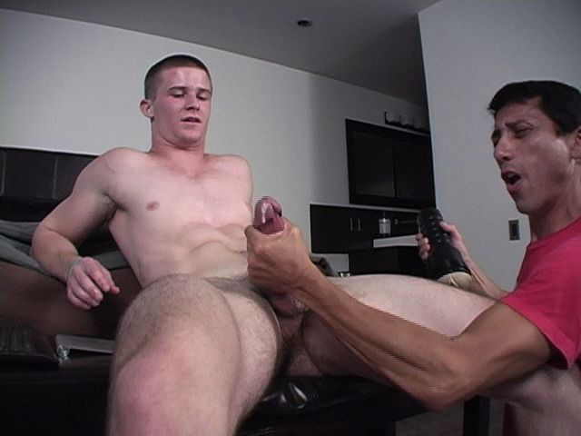 Young gay men masturbating